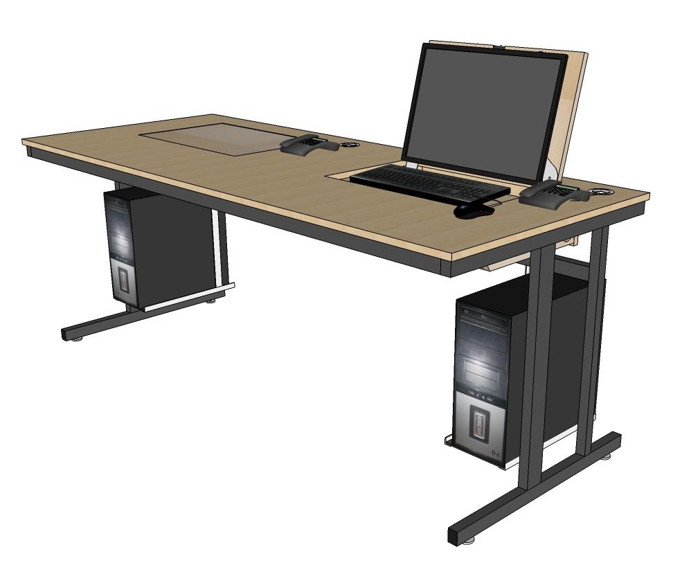 Geringer Platzbedarf durch kompakte Bauweise und optimale Raumausnutzung.