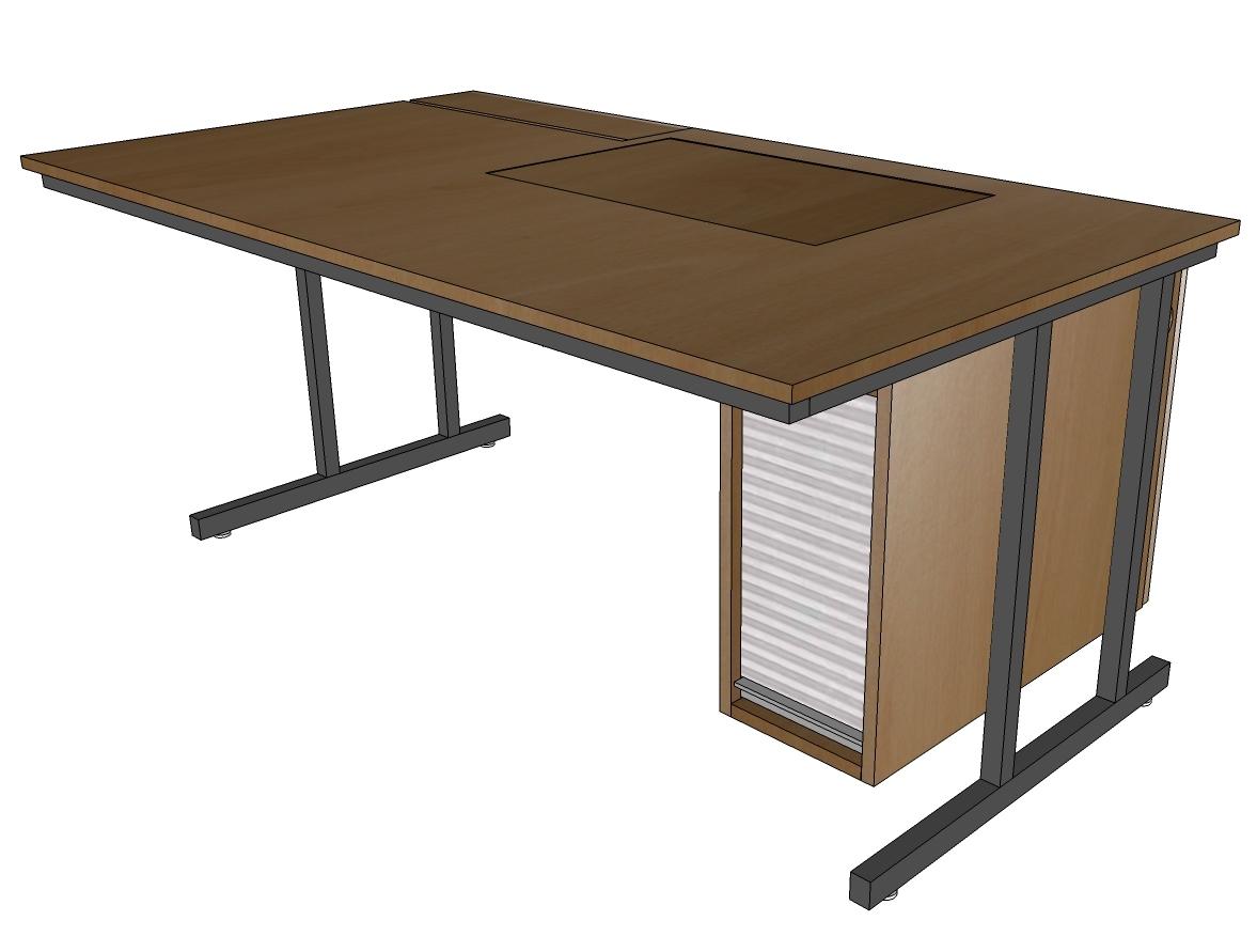 Tisch schule  Die Lehrertische sind eine Kombination von Schultisch mit ...