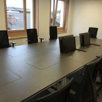 Landratsamt Garmisch-Partenkirchen Befehlsstellentisch