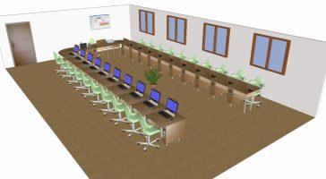 Schulungsraum / Konferenzraum 21 Plätze